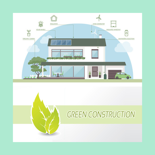 Portfolio Graphic Design Project - Green Construction