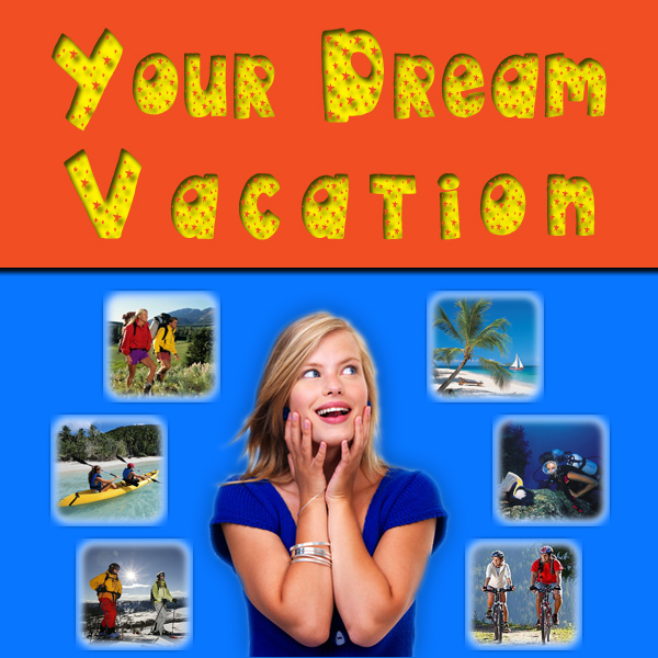 Portfolio Graphic Design Project - Your Dream Vacation