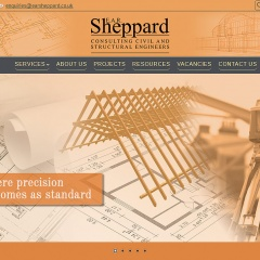 Engineering Consultancy - Website Development