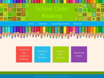 School Clubs Booking - Online Booking System Design and Development
