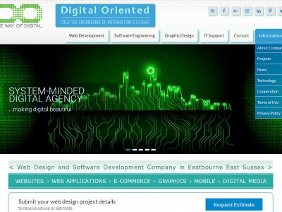 Digital Oriented - Redesign of Our Website