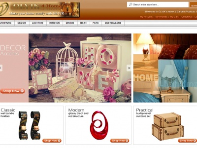 OLVIK 4 - Online Store Web Design and Development